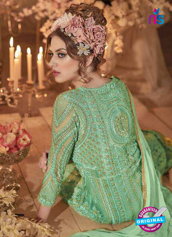 Sybella S-64 Sea Green Indo Western Suit