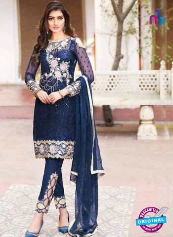 VD 61003 Blue Party Wear Suit