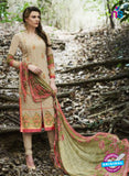 Bellisa 15001 Beige and Multicolor Faux Georgette Party Wear Suit