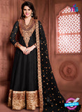 Aanaya 15001 Black Banglori Silk Party Wear Anarkali Suit
