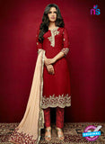 Arihant 15003 Maroon Faux Georgette Party Wear Suit