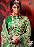 AZ 3630 Beige Cotton Silk Formal Saree