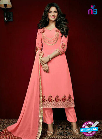 Arihant 15004 Peach Faux Georgette Party Wear Suit