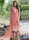 AZ 1068 Peach and White Faux Georgette Party Wear Suit