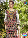 SC 13040 Multicolor and White Embroidered Original Lawn Pakistani Suit online