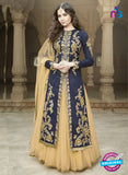 SC 12896 Blue and Golden Banglori Silk Party Wear Designer Suit