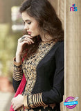 AZ 2177 Black Embroidered Banglori Silk Party Wear Gown - Gawns - NEW SHOP