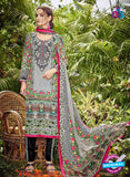 SC 13044 Multicolor and Black Embroidered Original Lawn Pakistani Suit