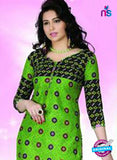 NS12119 Green and Black Chudidar Suit