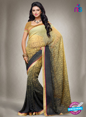 RT 15168 Beige Printed Casual Saree