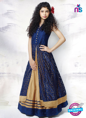 Rt 15278 Blue Indo Western Suit