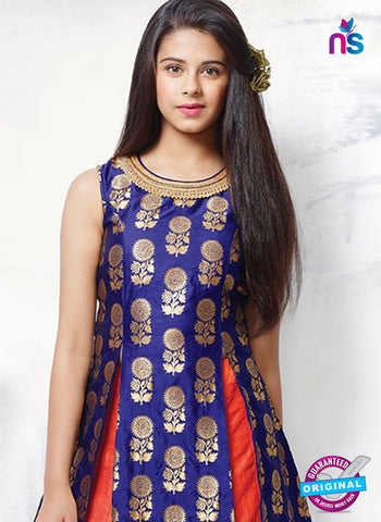 Rt 15280 Blue Indo Western Suit