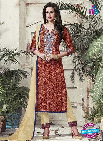 RT 15320 Brown Cotton Suit