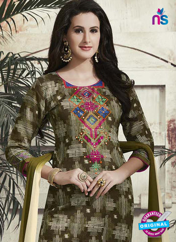 RT 15321 Green Cotton Suit