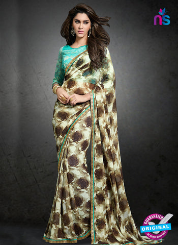 Rt 15411 Beige Casual Saree