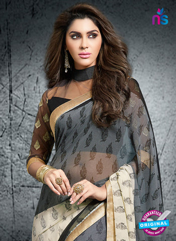 Rt 15414 Beige Casual Saree
