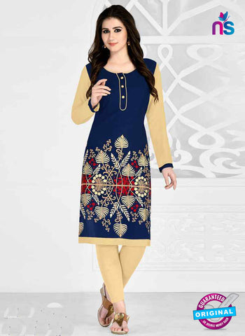 RT 15493 Blue Formal Kurti