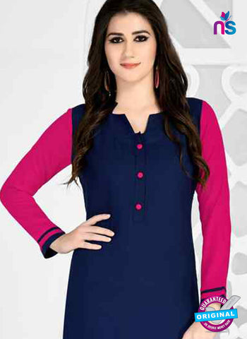 RT 15495 Blue Formal Kurti