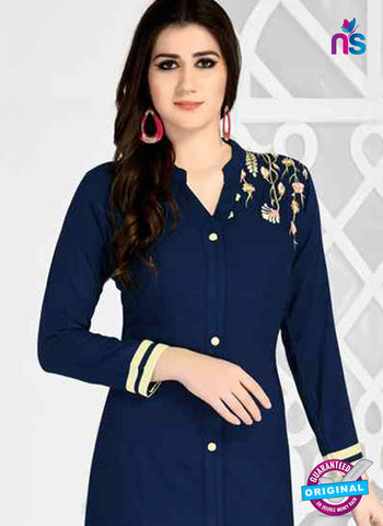 RT 15496 Blue Formal Kurti