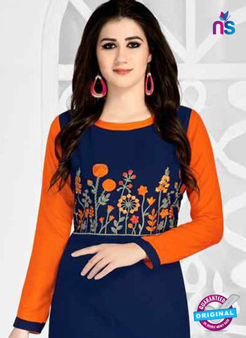 RT 15497 Blue Formal Kurti