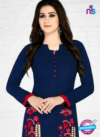 RT 15498 Blue Formal Kurti