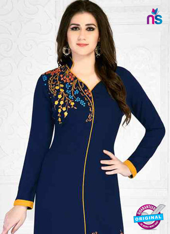 RT 15499 Blue Formal Kurti