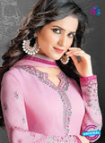 SC 14178 Pink Georgette Party Wear Suit