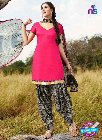 RT 15554 Pink Patiala Suit
