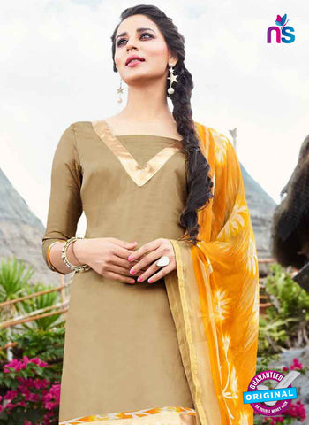RT 15555 Beige Patiala Suit