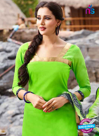 RT 15557 Green Patiala Suit