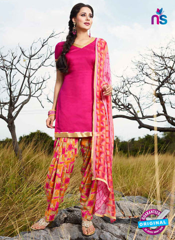 RT 15559 Pink Patiala Suit