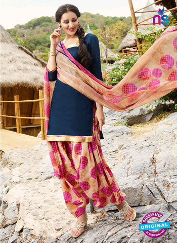 RT 15560 Blue Patiala Suit