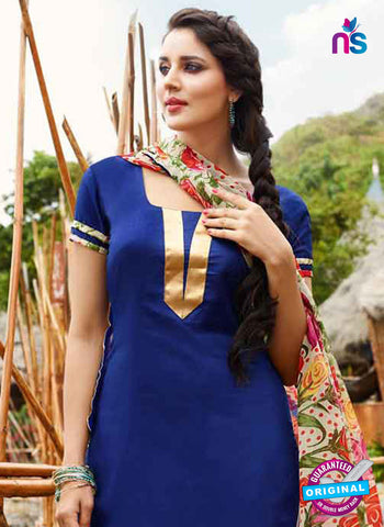 RT 15567 Blue Patiala Suit