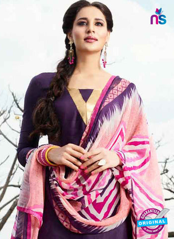 RT 15568 Purple Patiala Suit