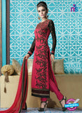 Mehak 16001 A Pink Georgette Party Wear Suit