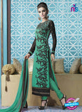 Mehak 16001 D Green Georgette Party Wear Suit