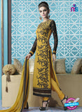 Mehak 16001 F Yellow Georgette Party Wear Suit