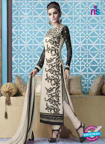 Mehak 16001 H White Georgette Party Wear Suit