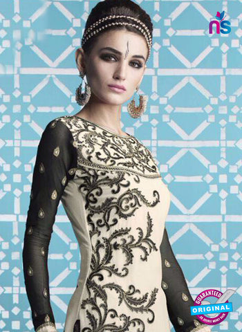 Mehak 16001 H White Georgette Party Wear Suit Online