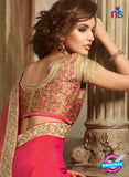 AZ 2105 Pink Silk Fancy Party Wear Saree - Sarees - NEW SHOP