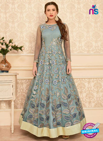 Arihant 16011 Grey Anarkali Suit