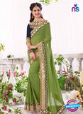 SC 13674 Green Exclusive Designer Fancy Ethnic Wedding Wear Saree