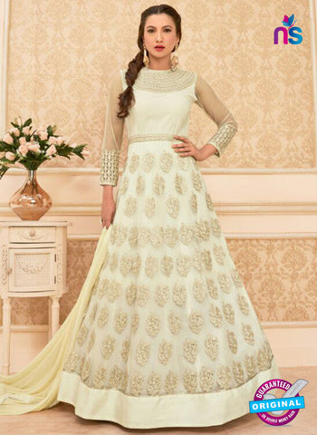 Arihant 16012 White Anarkali Suit