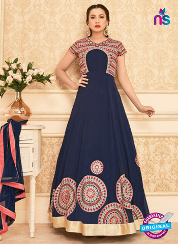 Arihant 16013 Blue Anarkali Suit