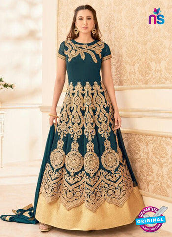 Arihant 16016 Sea Green Anarkali Suit