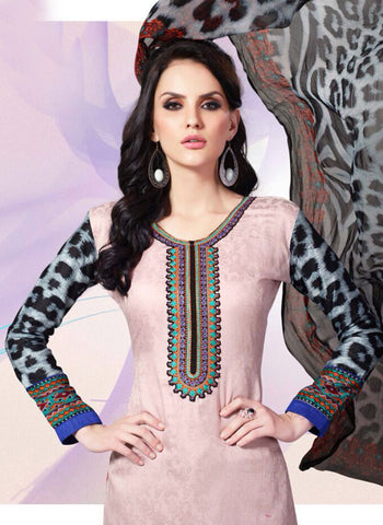 Mayur 1601 Pink Color Cotton Designer Suit Online
