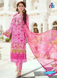SC 13393  Pink Embroiderd Lawn Cotton Designer  Suit