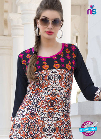 RT 16108 Multicolor Formal Kurti