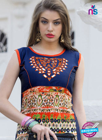 RT 16112 Multicolor Formal Kurti