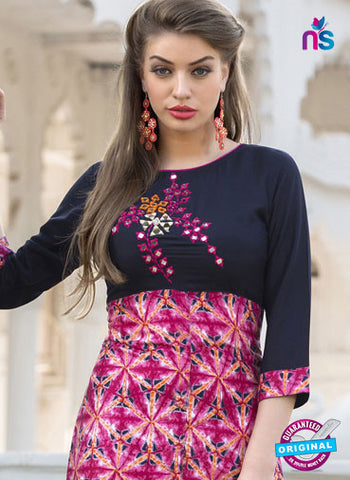 RT 16113 Pink Formal Kurti